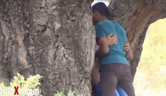 حجابي سر سعادتي في الغابة - سكس عربي مصري جديد